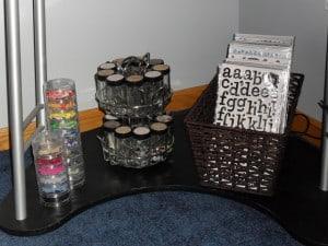 Organize Your Stuff Challenge. Week 9. Embellishments.