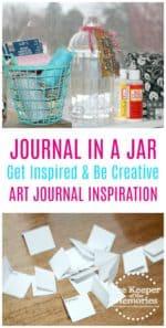 Make A Journal In A Jar for Art Journal Inspiration