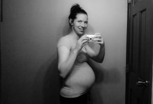 document the bump: 25 weeks.