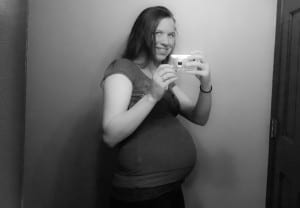 document the bump: 28 weeks.