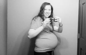 document the bump: 35 weeks.