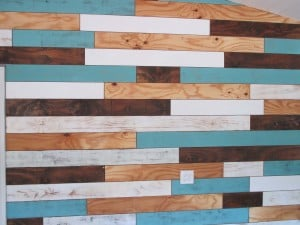 Studio Sunday – Distressed Plank Wall (Part I)