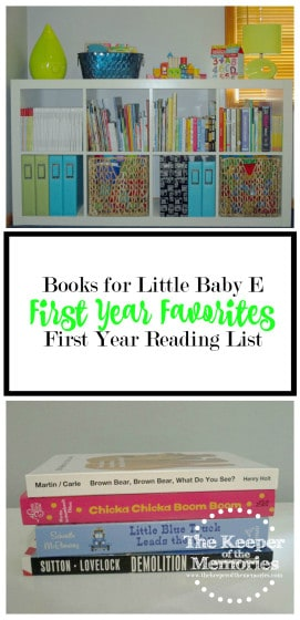 Looking for some awesome books to read to your little one? Check out this list of one mom's first year favorites.