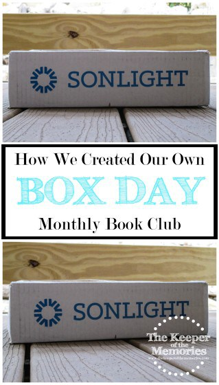 In the homeschooling community, box day is only like the absolute best day of the year and although we're not homeschooling, I still thought it'd be fun to have our own box day. You know, because I like to keep the little guy on his toes and all.