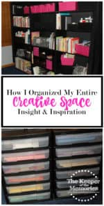 How I Organized My Entire Creative Space