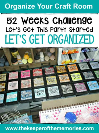 Craft Room Organization Challenge