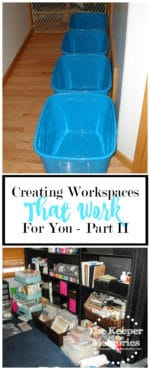 Workflow Wednesday – Creating Workspaces That Work For You (Part II)