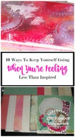 10 Ways To Keep Yourself Going When You're Feeling Less Than Inspired