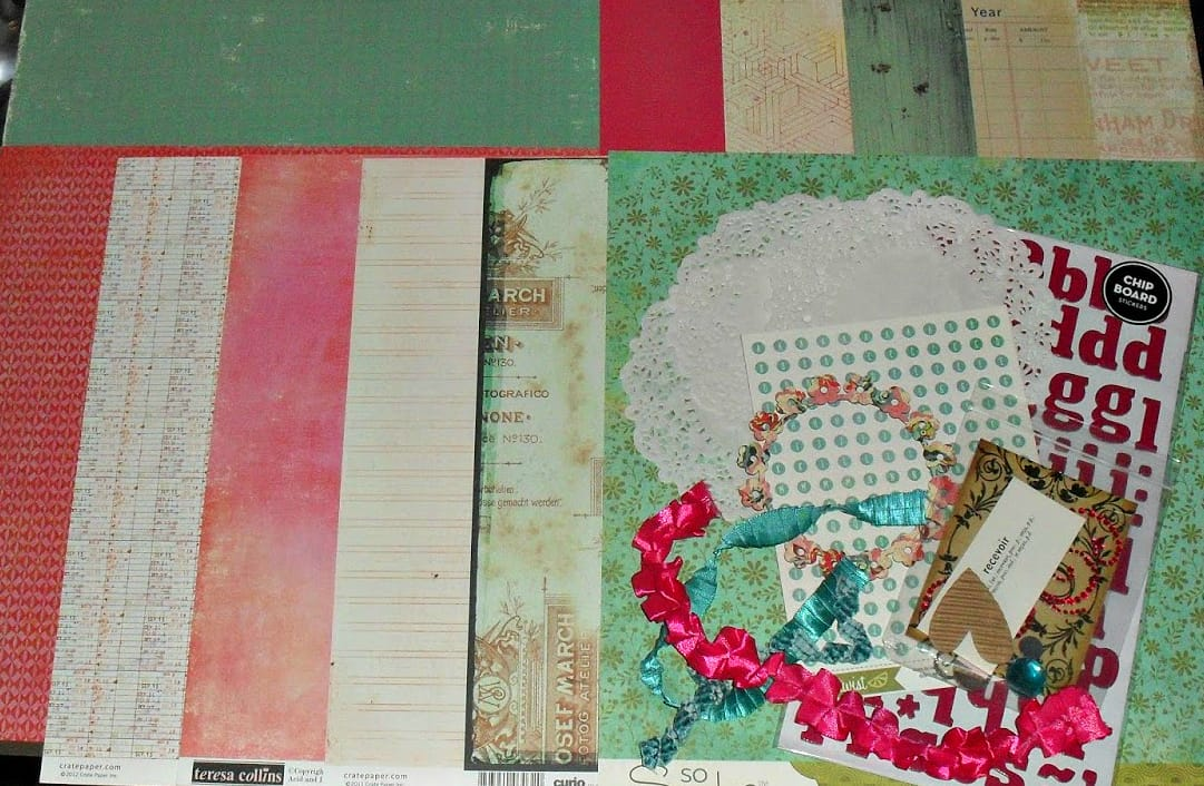 How To Make Your Own Awesome Scrapbooking Kits The Keeper Of The