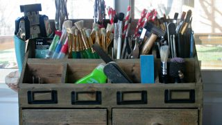 How I Organize All The Small Things In My Creative Space