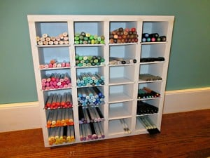 How I Organized All Of My Pens & Markers