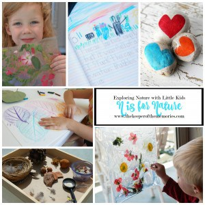 N is for Nature – Exploring Nature With Little Kids