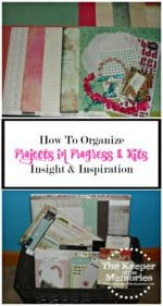52 Weeks To An Organized Workspace – Projects In Progress & Kits