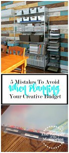 The 5 Biggest Mistakes I Made When Planning My Creative Budget