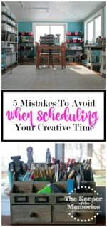 The 5 Biggest Mistakes I Made When Scheduling My Creative Time
