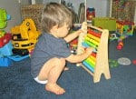 What Our Tot School Days Look Like At 18-Months-Old
