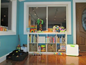 Our Tot School Space & Activity Baskets