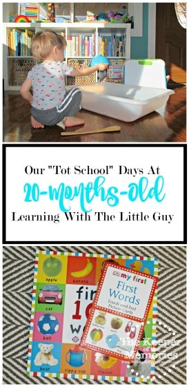"""Looking for awesome stuff to do with your toddler? Follow along with one creative mama's """"Tot School"""" Days journey with her little guy for inspiration and see what they're up to each week."""
