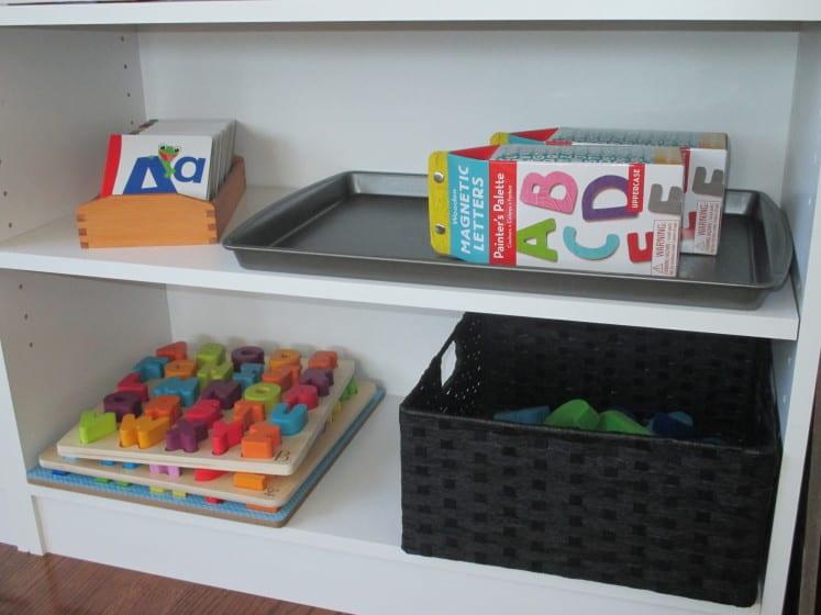 montessori-inspired shelves 7