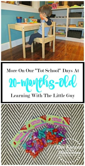 This creative mama and her little guy are having lots of fun with their Tot School days. Check out what they've been up to!