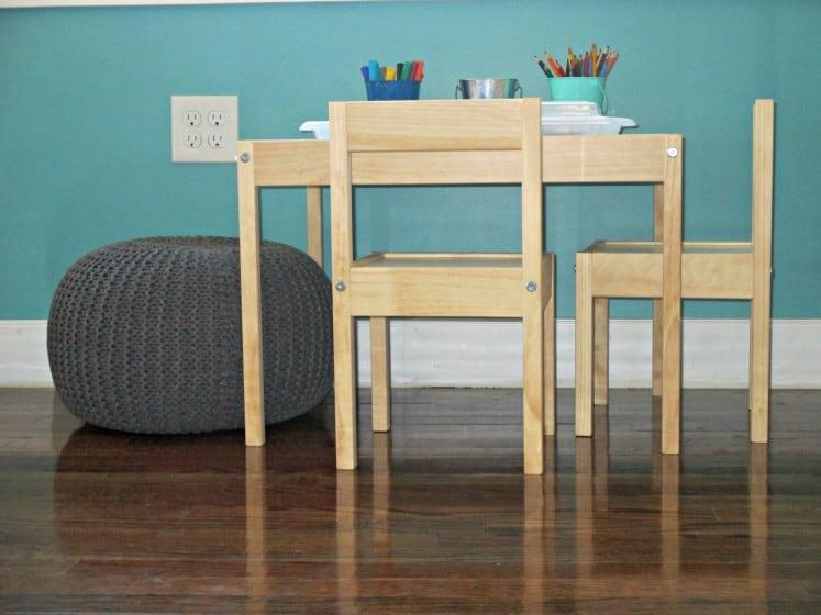 ikea latt table and chairs