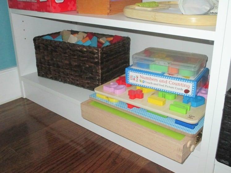 montessori-inspired shelves 3