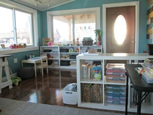 Studio Sunday – Rearranging & Reorganizing Our Creative Space