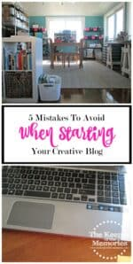 The 5 Biggest Mistakes I Made When Starting My Craft Blog