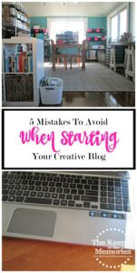 5 Mistakes to Avoid When Starting Your Creative Blog