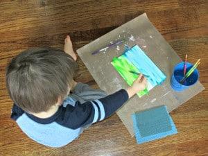 Our Tot School Days – Gardening (21 Months)