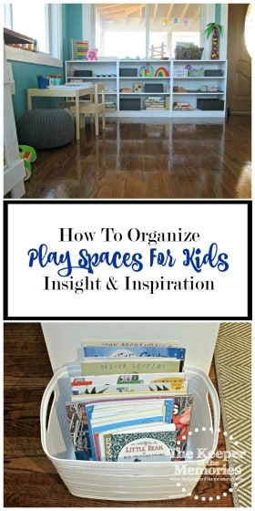 Looking for some awesome ideas for organizing play spaces for kids? Check out this post! Lots of inspiration! This space is nothing less than amazing!
