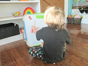 Our Tot School Days – When We're Just Not Feeling It