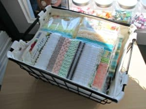 52 Weeks to an Organized Workspace – Ribbon, Fiber, & Thread + Fabric