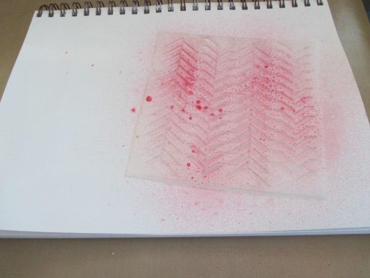 make a mess journal page (1)