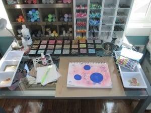Make A Mess Monday #2 – Get Out Your Art Supplies