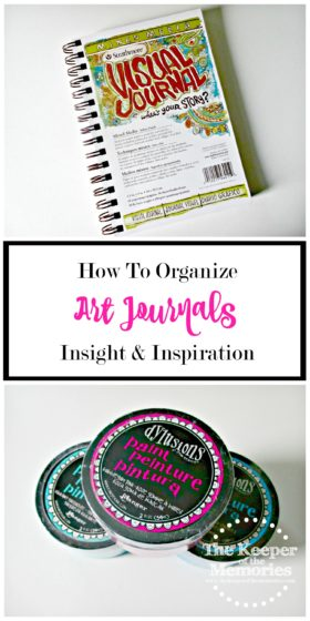 organize art journals