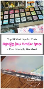 My 10 Most Popular Organizing Posts + How To Get Your Free Printable Workbook