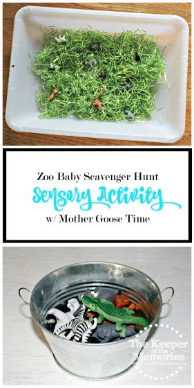 Love this! Awesome zoo baby scavenger hunt idea! Check it out!