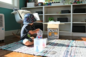 Our Tot School Days w/ Mother Goose Time – In The Art Studio + How Quick & Easy It Is To Get Everything Organized Each Month