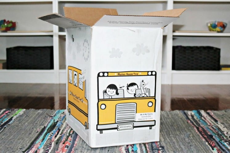 Mother Goose Time school bus box