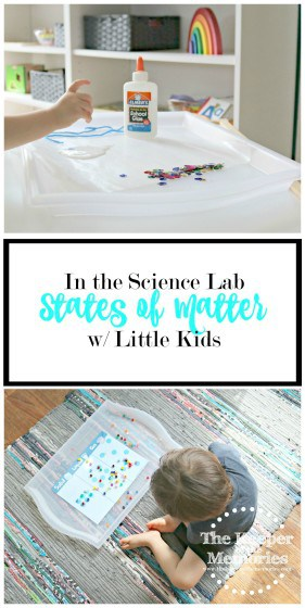 Lots of awesome ideas for exploring states of matter w/ little kids. Make chemistry fun! Liquid solid blob, molecule discovery, & squirt the ice. Check it out!