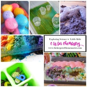 C is for Chemistry – Exploring Chemistry with Little Kids
