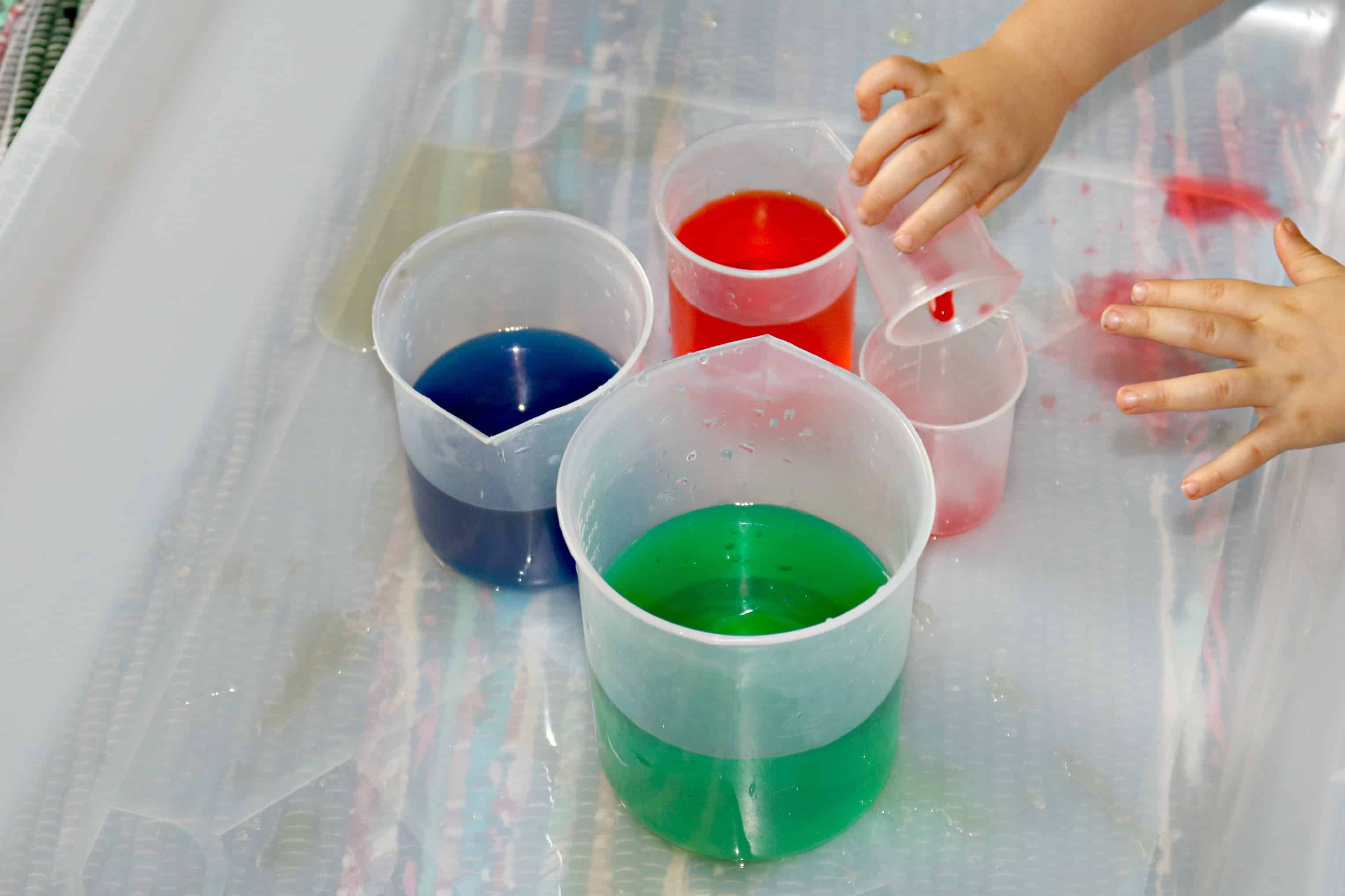 Inventing New Colors w/ Food Coloring + Water