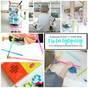 E is for Engineering – Exploring Engineering with Little Kids
