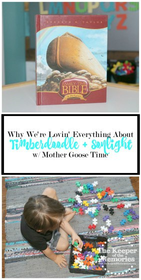 OMG! This mama is literally head over heels in love with Timberdoodle, Sonlight, and Mother Goose Time. And for awesome reasons too! Find out why in this post. Click through to read now or pin to save for later.