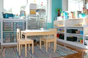 How We Put Together Preschool Workboxes
