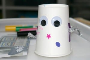 Community Helpers w/ Mother Goose Time – Robot Tinkering Invitation to Create Process Art Experience