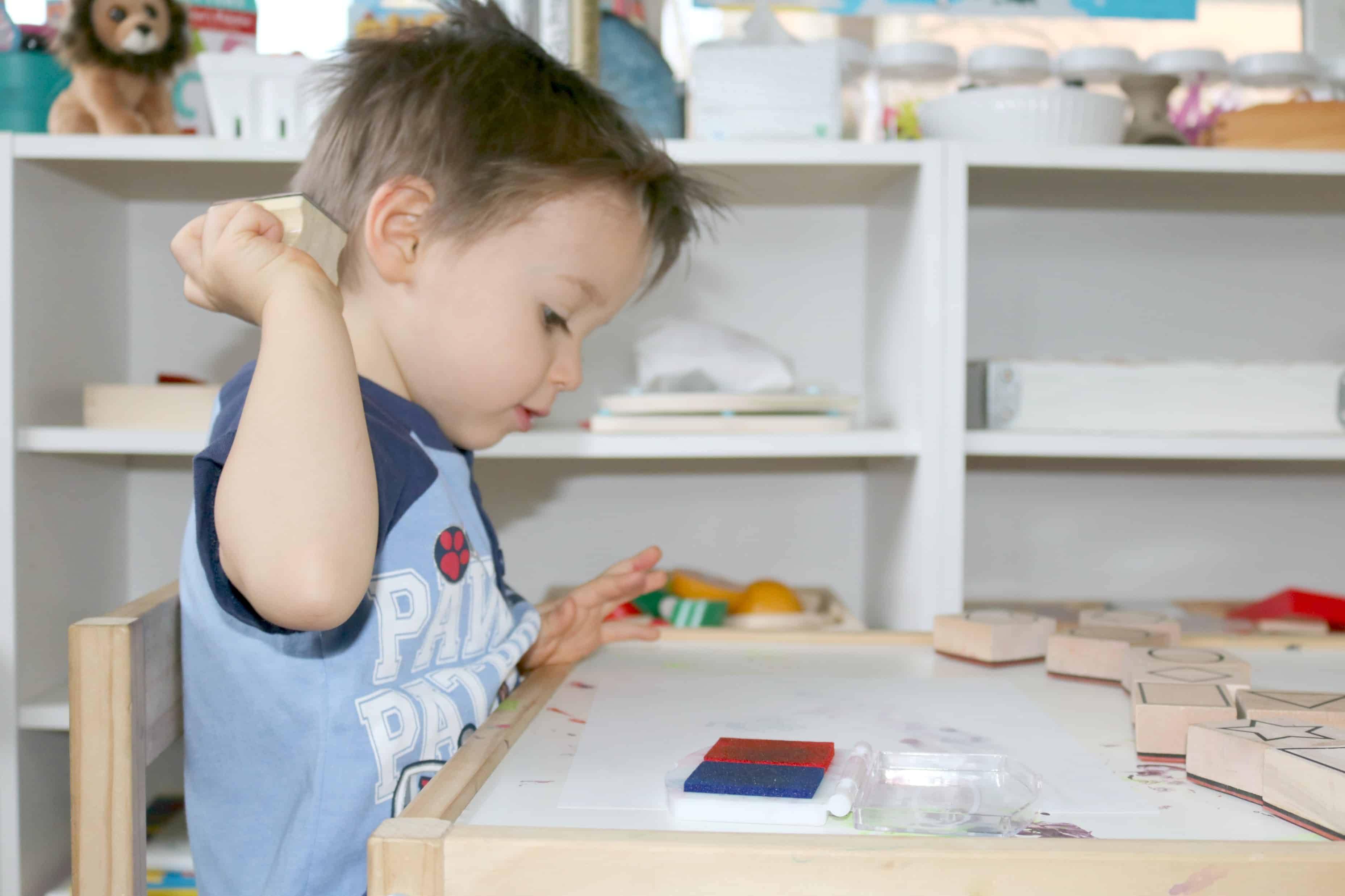 3 Ideas for Using Rubber Stamps in Your Everyday Learning