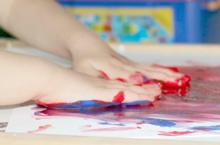Finger Painting 1