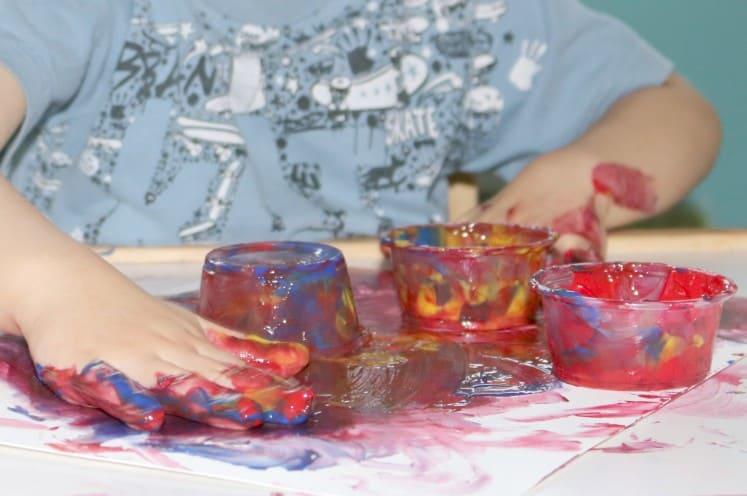 Finger Painting 5
